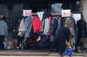 800 kiló ruhát gyûjtöttek Marosvásárhelyen a rászorulóknak