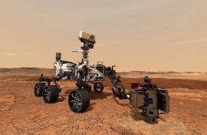 Már az ember marsi expedícióját készíti elõ a csütörtök este landoló Perseverance