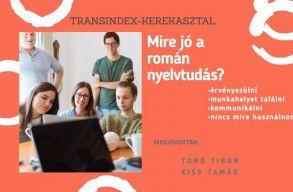 Ma 19 órától Transindex-kerekasztal: nyelvtudásunk és a román nyelvvel szembeni attitûdjeink