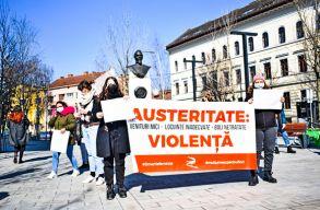 Nõgyûlölet, a másik járvány: feministák tüntettek Kolozsváron
