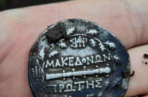 Kincsesládára bukkant egy nyugalmazott rendõr Olt megyében, tele antik pénzérmékkel