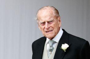 Meghalt Fülöp herceg, II. Erzsébet királynõ férje