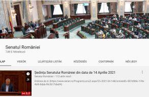 Törölheti a YouTube a szenátus csatornáját a videómegosztón Șoșoacã alakításai miatt
