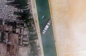 Olyan sok szennyezést bocsátottak ki a hajók az Ever Given-blokád alatt, hogy az ûrbõl is látszott