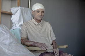 Hazalátogatott Cãtãlin Denciu, a Piatra Neamț-i kórházban megégett orvos
