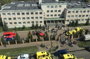 Iskolai lövöldözés Tatárföldön: 11 halottat és 20-nál több sebesültet hagytak maguk mögött a támadók