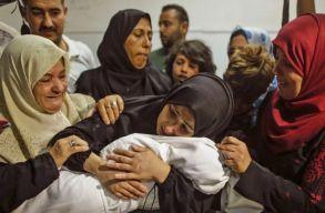 Továbbra is háborús a hangulat Izraelben, egyre több gyerek is meghal