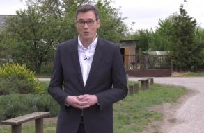 Karácsony Gergely bejelentette, hogy indul a magyarországi ellenzéki elõválasztáson
