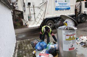 Egészségügyi veszélyhelyzet van Marosvásárhelyen a hulladék miatt