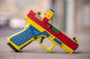 Legóból készült játékpisztolynak álcázott igazi fegyver váltott ki közfelháborodást Amerikában