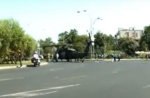 Black Hawk Down: amerikai helikopter hajtott végre kényszerleszállást egy forgalmas bukaresti úton