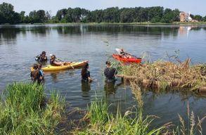 Víztisztító úszó szigeteket bocsátottak vízre három Kovászna megyei tavon