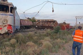 Rendõrség: Õrizetbe vették a feteºti-i állomáson balesetet okozó mozdonyvezetõt