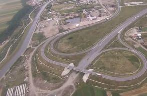 L�gi felv�teleket tettek k�zz� az A3-as aut�p�lya Kolozsv�r mellett �p�l� szakasz�r�l