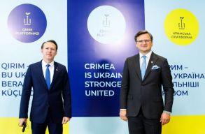 Krími Platform: Áder és Cîțu is kiállt Ukrajna területi integritása mellett