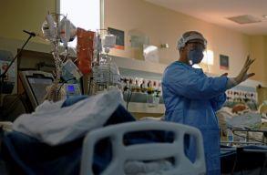 A koronavírusban múlt héten elhunytak 94,7 százaléka nem volt beoltva