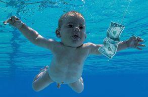 Beperelte a Nirvanát a férfi, aki az együttes albumborítóján meztelen babaként úszott a pénz után