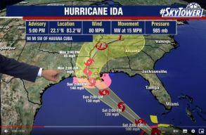 Eddig 45 halálos áldozata van az Ida hurrikánnak. A vezetõk dühösek a meteorológusokra