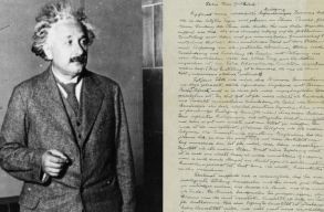 Egy olyan Einstein kéziratot árvereznek, amelyben a fizikus a relativitáselméletet készítette elõ