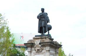 Kolumbusz szobrát lecserélik egy õslakos nõére Mexikóvárosban