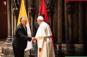 Ferenc pápa arra kérte a magyarokat, hogy legyenek nyitottak, mélyen gyökerezõk és másokat tisztelõk