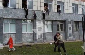 Ámokfutó lövöldözött egy oroszországi egyetemen, nyolc halott