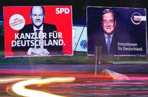 A szociáldemokraták gyõztek a parlamenti választáson Németországban