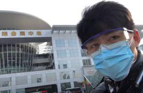 600 nap után felbukkant a vuhani járványról élõben tudósító, majd titokzatosan eltûnt vlogger