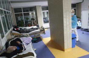 """""""A kétségbeesés képei Buzãu-ból"""" – egy PNL-s képviselõ megmutatta, milyen körülmények vannak a kórházban"""