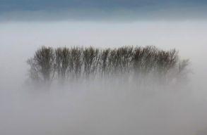 Fél Székelyföldet is belepi a köd hétfõ reggel