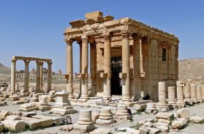 �si f�n�ciai templomot rong�lt meg az Iszl�m �llam Palm�r�ban