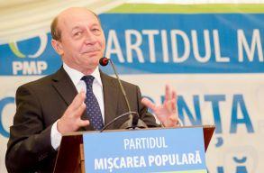 B�sescu beiratkozott a PMP-be