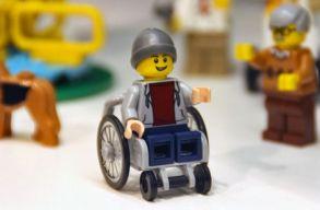 Megjelent az els� kerekessz�kes Lego-figura