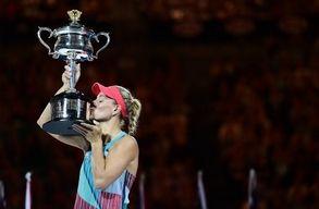 Meglepet�s gy�ztese van az Australian Open n�i egyes�nek