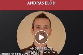 A sepsiszentgy�rgyi Andr�s El�d d�nt�s lehet a Comedy Central stand upos tehets�gkutat�j�ban