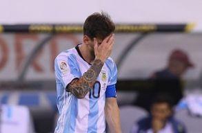 Messi visszavonul az argentin v�logatottb�l