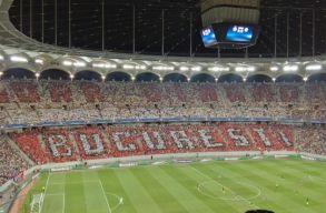 Epic fail: a Dinamo ultr�i porig al�zt�k a Steauat a BL-meccsen