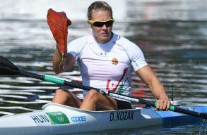 Koz�k Danuta kajak egyesben is olimpiai bajnok