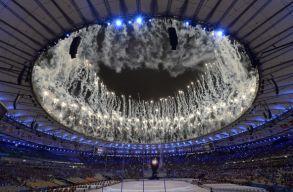 Kialudt a l�ng, v�get �rt a XXXI. ny�ri olimpia