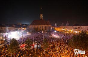 A szervez�k szerint rekordl�togatotts�g� volt a 7. Kolozsv�ri Magyar Napok