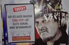Kolozsv�r: magyarok �ltal frekvent�lt helyekre ker�ltek ki a K�tfark� Kutya P�rt plak�tjai
