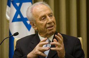 Elhunyt Simon Peresz, Izrael Nobel-b�ked�jas volt minisztereln�ke