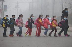 Az emberiség 92%-a szennyezett levegõt szív be