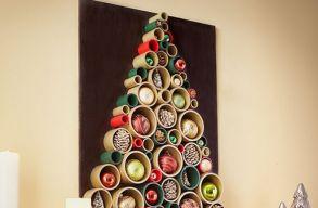 Alternatív karácsonyfák, amiket még te is elkészíthetsz idénre