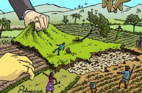 Földharácsolás és alternatívák a mai Romániában